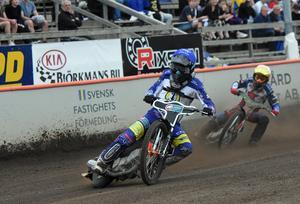 Kim Nilsson körde ihop 14 poäng när Masarna besegrade Dackarna med 53–37.