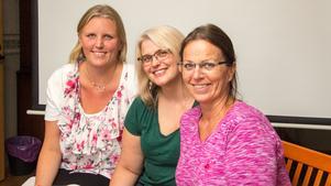 Melinda Sjölander och Petra Skogh är två av de körmedlemmar Jeanette Lindh tar med sig på resan till Rom