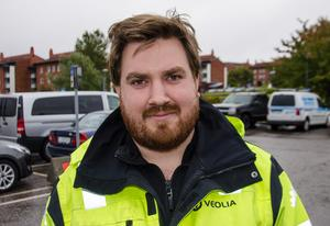 Mathias Björk, 34, industrisanerare, Sundsvall.