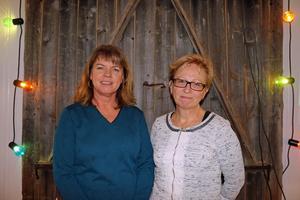 Här är paret som ska leda Krokomscentern in i framtiden. Karin Jonsson till vänster blir nytt kommunalråd och Ingrid Zakrisson ny kretsordförande.