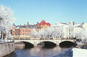 Vy mot Storbron, 1982. Foto: Gunlög Enhörning