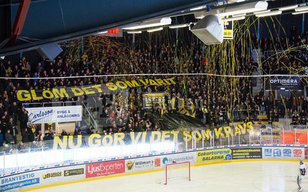 VIK-fansens mäktiga tifo under den gångna säsongen.
