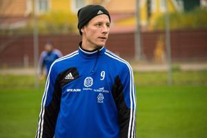 Johan Eklund under sin tid i GIF Sundsvall.