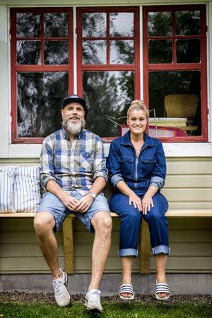 Radarpar på ljugarbänk – Erik och Anna jobbar bra tillsammans.