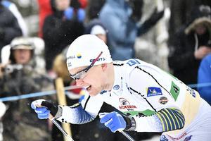 Axel Ekström får göra sin andra världscuphelg för säsongen. Arkivfoto: Björn Larsson Rosvall/TT