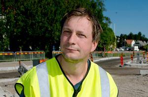 Mikael Johansson, gatuavdelningen, Sundsvalls kommun.