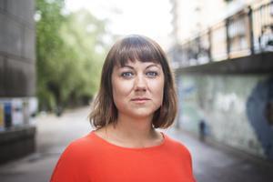 Ellen Tejle är numera vd på mediehuset Fanzingo i Alby.   Foto: Isabell Höjman