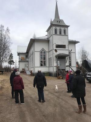 Start och mål är vid bygdegården i Långhed.