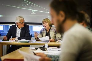 Inga-Lill Öjemark försvann plötsligt från sin tjänst som chef för elevhälsan.