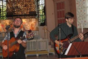 Anders Edström och Martin Fabian. Foto: Max Möllefält