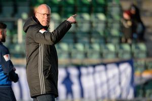 Joel Cedergren inför matchen mot Malmö. Foto: Erik Mårtensson / TT