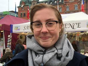 Moa Hesselthun, 22 år, säljare, Göteborg