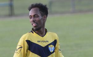 Abdulqadir Mohamed Hussein petades från startelvan i matchen mot Svärdsjö efter att ha missat en träning den veckan. Men när han kom in i andra halvlek var han matchens lirare.