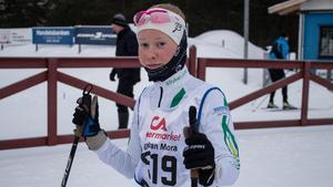Sara Oskarsson har rest från Sunne för att delta.