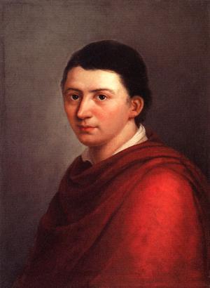 Friedrich Schlegel 1801. Målning av Franz Gareis.