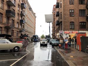 Serien spelas till största del in i Göteborg men ska utge sig för att vara i Stockholm.