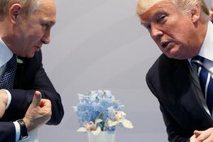 Trots allt inte SD:s väg? Om de senaste åren lärt oss något så är det att partier och politiker kan komma undan med uttalanden som väcker direkt anstöt hos en icke-försumbar del av befolkningen. Här syns Vladimir Putin och Donald Trump under ett G20-möte i Tyskland.