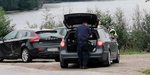 Två bilar krockade i en korsning i Kvissleby.
