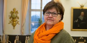 Carola Gunnarsson (C), ordförande i kommunfullmäktige.