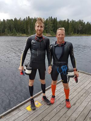 Örebroarna Anders Ekholm, 42, och Mårten Vidlund, 49, utgör lag