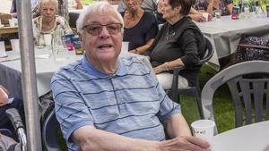 Runo Wikman, tidigare ordförande i PRO Fagersta, var självklart på plats för att fira.