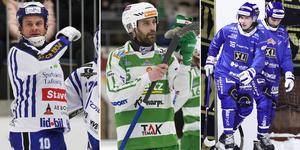David Karlsson och Magnus Joneby tar plats i Veckans lag. Succélaget Motala har tre spelare med i elvan. Bild: Jonna Igeland / TT