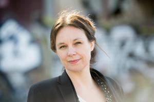 Sara Stridsberg beviljas utträde ur Svenska Akademien, enligt Anders Olsson, tillfällig ständig sekreterare.Foto: Henrik Montgomery / TT
