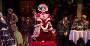 Från Puccinis kärlekshistoria La Bohème. Foto: Pressbild