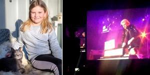Stella Bylin fick en magisk upplevelse på Joe Laberos Show.