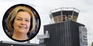 Kristina Svensson hoppas på fortsatt flyg från Borlänge och Mora.