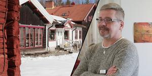 Livsmedelsinspektören Bo-Göran Fransson och hans kollega förbjöd serveringen av lunchmat under några timmar vid Morhagen fäbodhotell för ett par veckor sedan