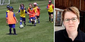 Susanne Öberg, ordförande för RF-SISU Västernorrland, anser att läget är allvarligt för de små idrottsföreningarna i länet.