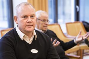 Johan Crusefalk är nytillträdd äldreombudsman i Västerås.