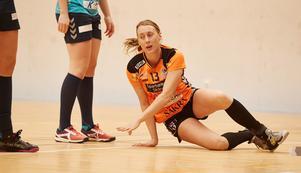 Caroline Månsson i en elitseriematch för sitt Kristianstad. En rolig poäng är att Månssons tränare då var förre ÖHK-profilen Ulf Schefvert. Foto: TT/Andreas Hillergren