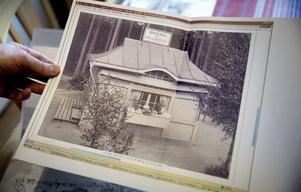 Vissa byggnader saknas, som den här kiosken. Den är uppsatt på Arnes att-göra-lista.