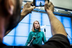 Hur respektlöst är inte Annie Lööfs beteende när man tänker på valresultatet? Alla dessa krav av en partiföreträdare som vid valet fick 31 mandat i riksdagen, skriver Pirjo Jonsson (S). Arkivbild: Magnus Hjalmarson/TT