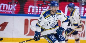 Daniel Gunnarsson är tillbaka i LIF:s laguppställning. Foto: Ulf Palm/TT