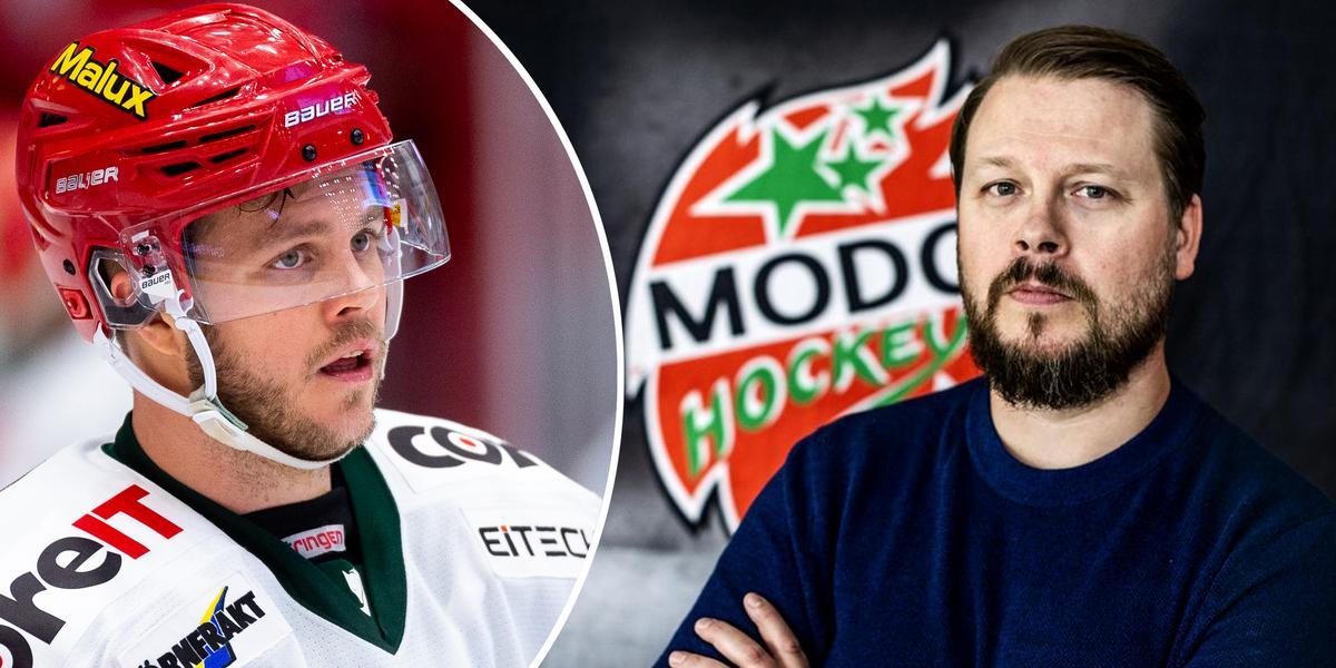 Osäkert läge kring Enström – Modos sportchef om värvningsfrågan:
