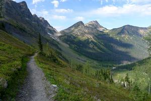Vy från Rock Pass längs PCT. Foto: Andy Porter