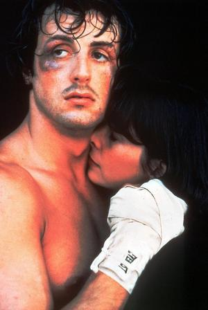 Sylvester Stallone och Talia Shire i
