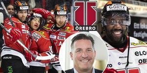 Örebro Hockey ska slåss i toppen även i framtiden, om Bengtzén får som han vill. Foto: Bildbyrån//TT.