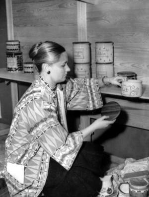 Marianne Westman i en bild från 1959. Foto: TT/Pressens bild