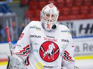 Viktor Kokman höll nollan i två perioder.Foto: Anna-Lena Bergqvist/Bildbyrån