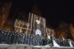 500 körsångare deltog i uruppförandet av The sound of Jämtland.