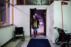 Mona Forlöv har varit aktiv i BB-ockupationen sedan i somras. Det har blivit ett 15-tal pass.