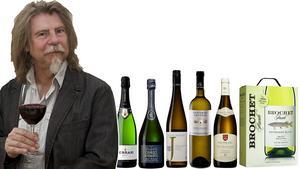 Dryckesexpert Sune Liljevall, med årets vita viner.