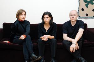 Emily Fahlén, Asrin Haidari och Thomas Hämén ska leda Luleå internationella konstbiennal. Bild: Mai Nestor