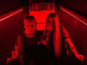 Bra Haks Klubben. Alva och Elena. Foto: Fabian Zeidlitz