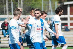 Granit Buzuku siktar på att leverera ett par snygga frisparkar i de matcher som tv-sänds med IFK Timrå under säsongen.