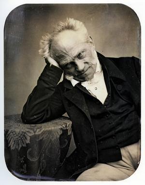 Den pessimistiske filosofen Arthur Schopenhauer 1852. Foto: Jacob Seib